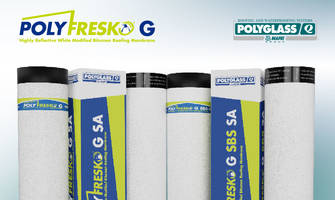 New Polyfresko White Mod-Bit Cap Sheets are Manufactured Using CURE Technology