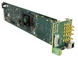 New 9971 Series Multiviewer Supports 12G/6G/3G/HD/SD-SDI and UHD1 3820x2160 Square Division (SDQS)