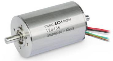 New EC-i 52XL 200W Brushless Servo Motor Features 24, 36 and 48VDC Windings
