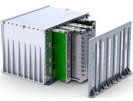 Wolverine, a New RF Reconfigurable Processor Includes Three Ultrascale FPGAs and Provides Four RF Input/Output Ports per Module