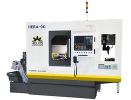 New Hera 90 CNC Gear Hobbing Machine Features 8.5 DP Pitch Rating, 6,000 rpm Maximum Hob Speed and up to 8 CNC Axes