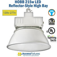 New HOBB High Bay Light Fixture Available in 115W and 215W Standard Voltages