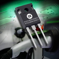 ON Semiconductor's Two New Silicon Carbide (SiC) MOSFET Devices Combine High Power Density that Reduces Operating Costs and Overall System Size