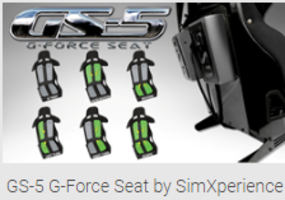 SimXperience presents GS-5 G-Force Seat for Racing and Driving Simulations on the PC