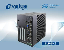 New SLP-SKG Expandable Slot PC Supports up to 32GB Memory, Dual LAN, Dual Display, 4 USB3.0 and 4 COMs