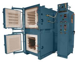 Electrical Dual Chamber Box Furnace for Heat Treatment of Machine Tooling
