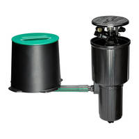 New LG3HE In-Ground Sprinkler with Click-n-Go Hose Connect from Rain Bird Features Easy Installation