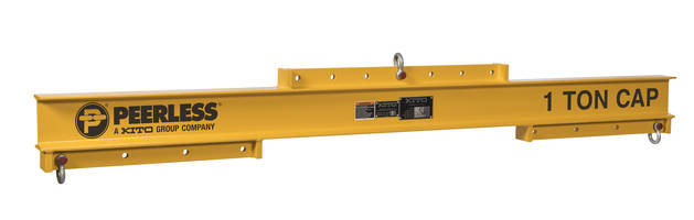 New UNVB Universal Lifting/Spreader Beams are Available from 1/4 Ton thru 7 Ton Capacities