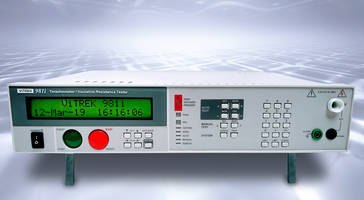 New 98x Series Teraohmeter Features High-speed Testing with Dwell Times as Low as 100 ms