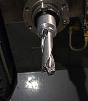 New 4TEX Indexable Carbide Insert Drills Comes with Dual Twisted Coolant Outlets