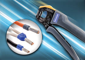 New DN-FE-16T Self-Adjusting Rotatable Die Crimping Tools are Lightweight, Compact and Comfortable for Crimping