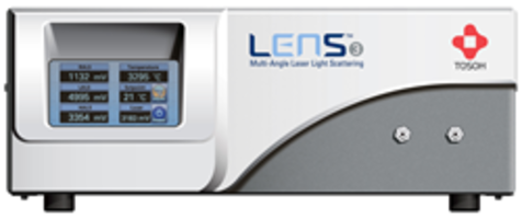 New LenS3 Multi-Angle Light Scattering Detector Allows Direct Measurement of Molecular Weight