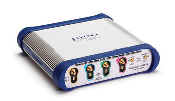 New PicoScope 9404-05 Oscilloscope has Four 5GHz 50 Ohm Input Channels, Each with its Own Advanced 12-bit ADC