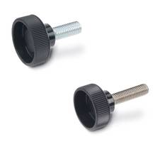 New GN 421 Hollow Knurled Knobs Come with Partially Protruding Steel Insert