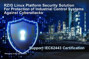 Renesas New RZ/G Linux Platform Security Solution Will Reduce the Amount of Time Required For Users to Obtain Certification under IEC 62443-4-2