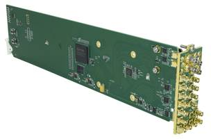 New Cobalt Digital 9914DA Series Distribution Amplifiers Controlled with Remote Control Panels