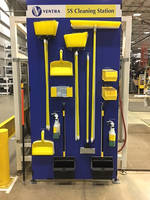 New Color-coded Cleaning Tools Reduce Cross-contamination Between Workspaces and Establish Standard Work
