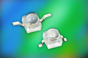 New Series of Blue and True Green Ultrabright LEDs Provide High Luminous Flux, Withstand ESD Voltages up to 2 kV