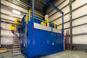 Wisconsin Oven Ships Heavy Duty Walk-In Oven to Manufacturer in Composites Industry