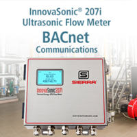 New InnovaSonic 207i Liquid Ultrasonic Flow Meter Ensures Accuracy of +/-0.5% of Reading from 0.16 to 40 ft/s (0.05 to 12 m/s)
