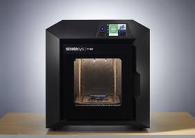 New Stratasys F120 3D Printer Features Large Filament Boxes Allowing for up to 250 Hours of Uninterrupted Printing