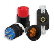 New Line of Color-coded Arrow Hart Locking Devices Available in Variety of Configurations and Voltage Ratings