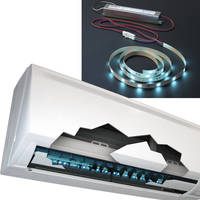 New LED Light Disinfection System Mini LED Features 30-Light LED Array Embedded on a Self-adhesive, Size-customizable 1/2-inch-wide (12.7-mm) Flexible Strip