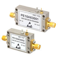 New Input-Protected Low-Noise Amplifiers Operate with Bias Voltage of +12V Typical Over Temperature Range of -40 to +85 degree C