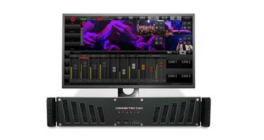 JVC Presents CONNECTED CAM Studio 6000S Control Room with Built-In H.264 Encoder