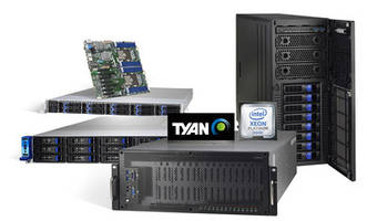 TYAN's Servers and Motherboards Add Support for 2nd Generation Intel Xeon Scalable Processors and Intel Optane DC Persistent Memory