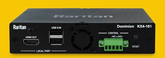 New Dominion KX IV-101 KVM-Over-IP Switch Delivers Up to 60 Frames per Second