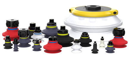Piab Offers New Bellow Suction Cups That Meet FDA 21CFR177.2600 and EU 1935/2004 Standards