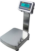 New Stainless Steel Ultra Washdown Bench Scale Reads in lb, kg, g, oz and Meets Washdown IP 68 Rating Ideal for Food Industry