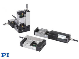 New L-505 Linear Stage Series Available with Integrated Linear Encoders Providing 0.05 Microns and 0.005 Microns Resolution