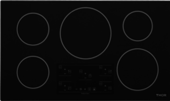 New Induction Cooktops Available in Household Series and Elite Series, Both in 30- and 36-inch Models with 4 and 5 Burners Respectively