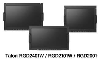 "New RGD2401W, RGD2101W and RGD2001 Rugged Monitors Available in 24.1"", 21.5"" and 20.1"" Sizes Respectively"