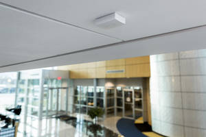 Latest 1128 Wireless Glassbreak Detector from DMP Offers Detection Coverage Up to 20 ft