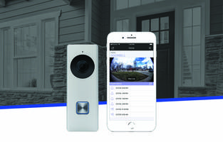New V-4060DB Video Doorbell Features 1080P Precise Clarity, 180-degree Field of View and Pinch-to-zoom Technology for a Closer Look