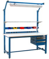 Now Available at Cleatech, BenchPro® Tubular Steel Workbenches