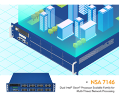 New Network Security Appliance NSA 7146 Powered by 2nd Generation Intel Xeon Scalable Processors