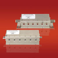 New line of Relay Controlled Programmable Attenuators Available in Rugged, Nickel-plated Brass Packages with Female F-type or SMA Connectors