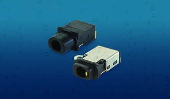 New Waterproof Audio Jack Connectors Available in Surface Mount, Mid Mount SMT and Through Hole Mounting Styles