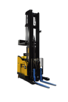 New Dual-mode Pantograph Robotic Lift Truck is Capable of Depositing and Retrieving Loads as High as 30 Feet and Reaching into Double-deep Storage