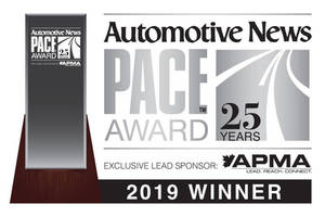 Lear's Powered, Adaptable Seating System, ConfigurE+, Wins Automotive News PACE Award