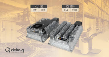 New ICL 1200 and 1500 Lithium Battery Chargers Available in 85V and 120V Models
