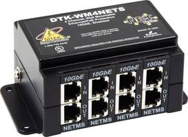 New DTK-WM4NETS Surge Protector Supports Data Speeds up to 10 Gbe