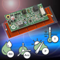 ON Semiconductor's New RSL10 Multi-Sensor Platform Powered Solely with a Solar Cell