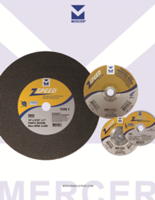 Mercer Offers ZSpeed Series Cut-Off and Grinding Wheels with Self-Sharpening Feature