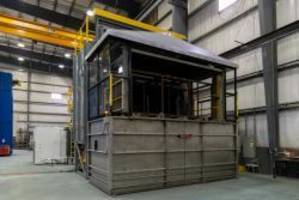 Wisconsin Oven Ships Horizontal Solution Treat System with Chiller System to Aerospace Industry