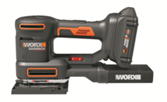 New WORX 20V Sandeck Multi-Sander Designed with Mode Max Technology
